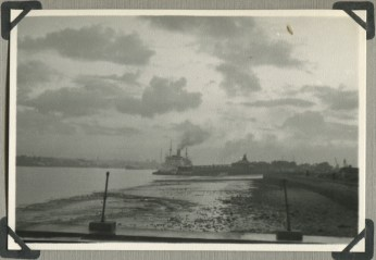 My father's photos 1955-7 7 Essex Coast - is it Leigh