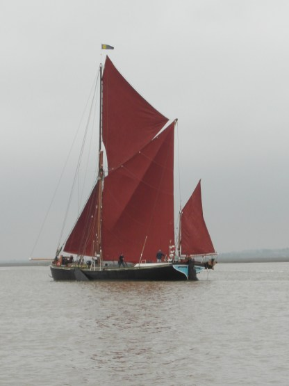 In the Swale 21 June 2013 sailing barge Mirosa