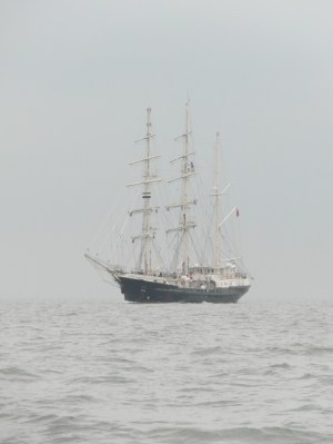 In the Thames Estuary 21 June 2013 Tenacious 1