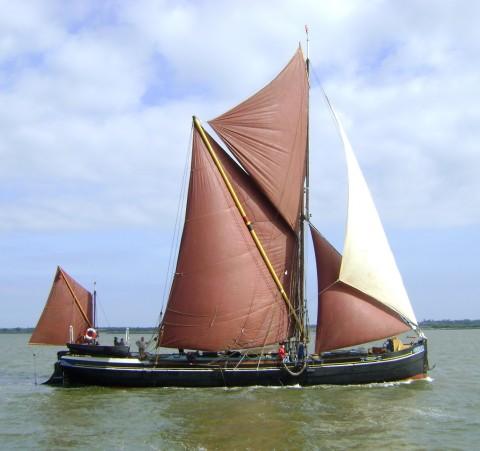 Sailing barge SB Centaur