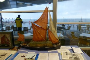Jimmy Lawrence barge skipper talks on Southend Pier 1