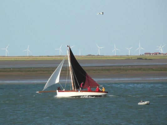 Swale match 2013 28 - Privateer I think...