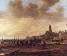 Goyen_1646_Beach_at_Scheveningen
