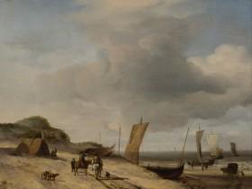Velde,_Adriaen_van_de_-_Dunes_at_Scheveningen_-_Google_Art_Project