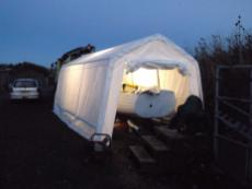 Boat Winter Tent