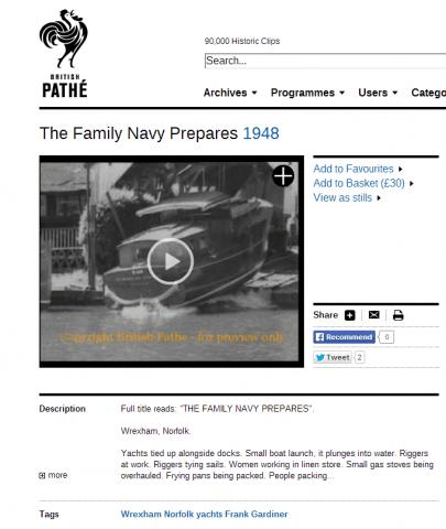 The Family Navy Prepares