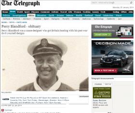 Percy Blandford obituary