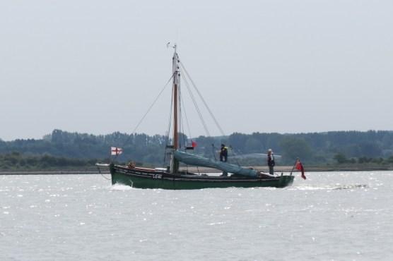 Medway Bradwell Brightlingsea Pyefleet trip 52