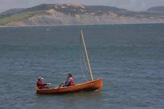 12' Traditional clinker dinghy. Photo by Liz Griffiths 100614 (201)