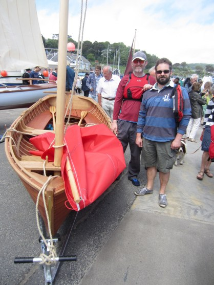 12' Traditional clinker dinghy. Photo by Becky Joseph 100614 (89)