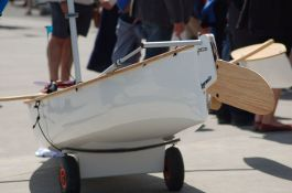 14.5' Composite Sailing Canoe. Photo by Grant Morris 190614 (24)