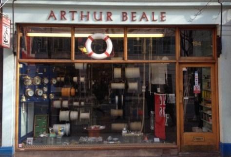 Arthur Beale shop