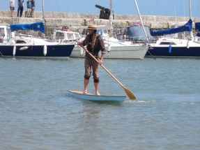 14' Kaholo touring paddle board. Photo by Becky Joseph