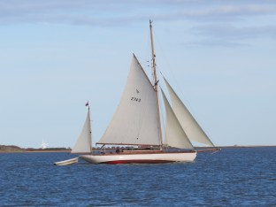 Cygnet of London sailing 2