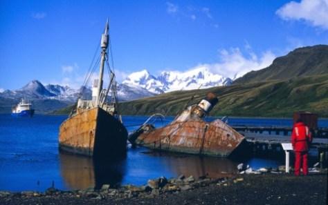 Grytviken_WhalingBoats_NOAA