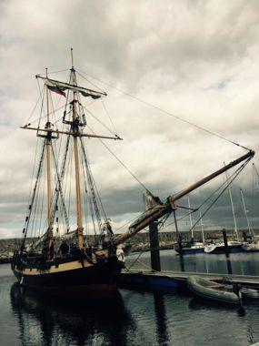 HMS Pickle at Caruna