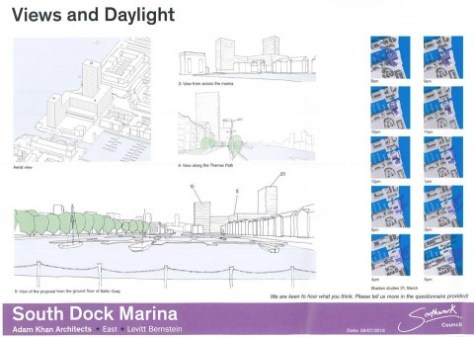 Proposed South Dock development