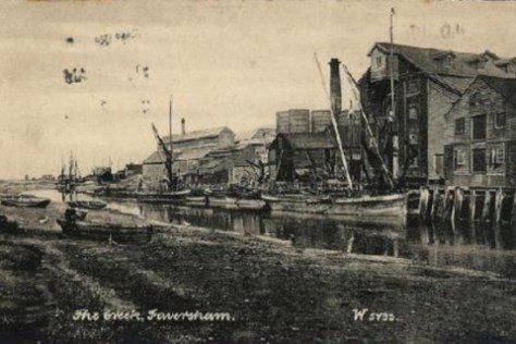 The Creek, Faversham 1905