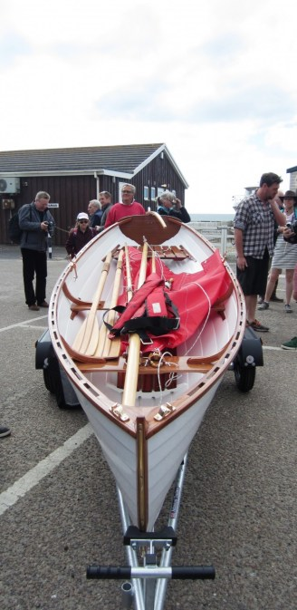 13' Acorn Skiff. Photo by Becky Brown