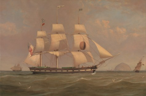William_Clark_-_The_Black_Ball_Line_Packet_Ship_'New_York'_off_Ailsa_Craig_-_Google_Art_Project