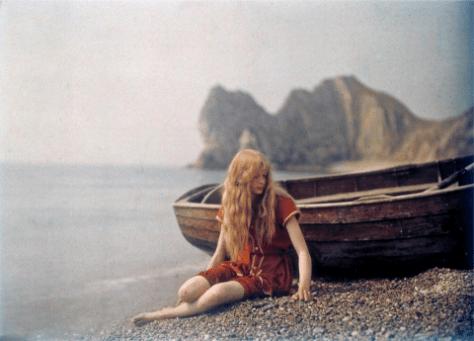 Mervyn O'Gorman early colour photo 1913