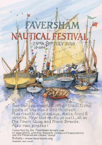 Faversham Nautical Festival 2016