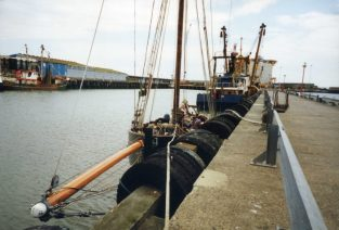 JB in Lowestoft (bowsprit)