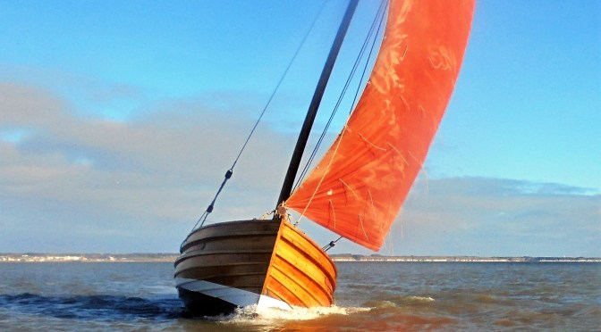 Photos of cobles under sail from the Bridlington folks