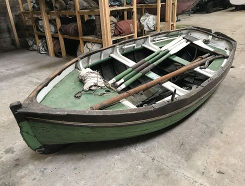 Eyemouth museum boat and historic maritime items collection goes under the hammer