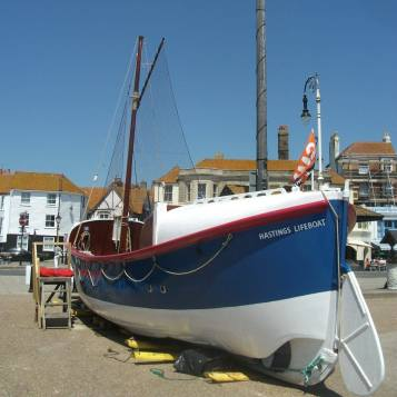 Hastings lifeboat
