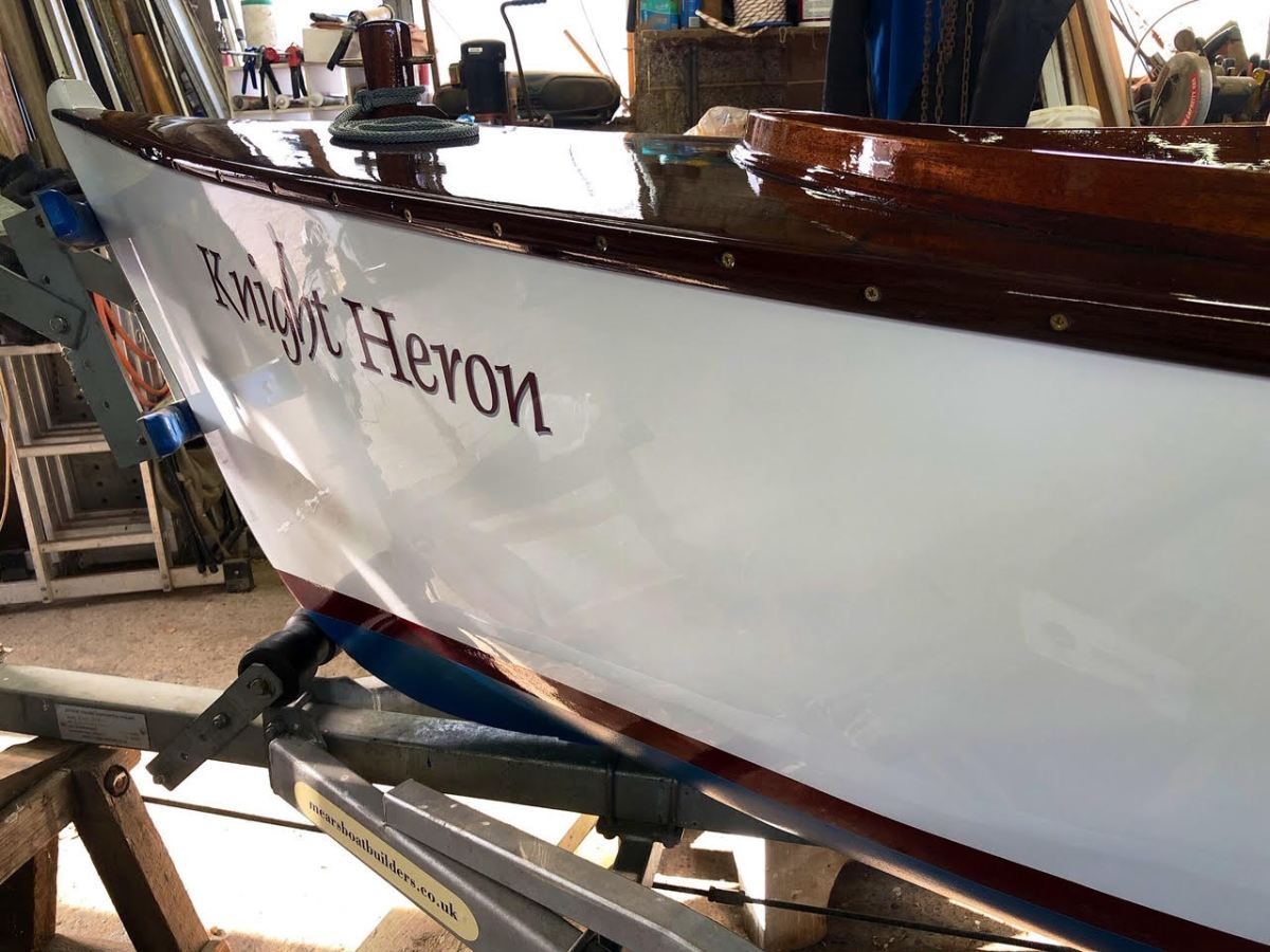 HJ Mears restores a 1920s river launch