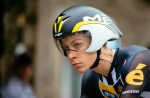 South African Louis Meintjes won the African cyclist of the year trophy