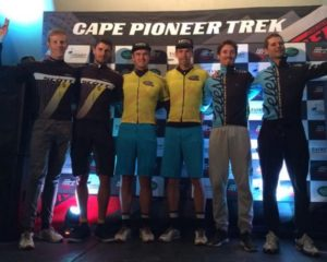 the prologue stage of the 2015 Cape Pioneer Trek, which started and finished at The Point in Mossel Bay on Sunday. Photo: Supplied