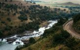 The scenic KwaZulu-Natal hills were the backdrop for day five of the joBerg2c. Photo: Em Gatland