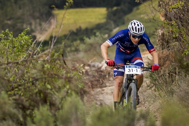 Chris Wolhuter in action during the 2016 Winelands Encounter.
