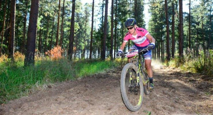 Robyn de Groot at the National MTB Series