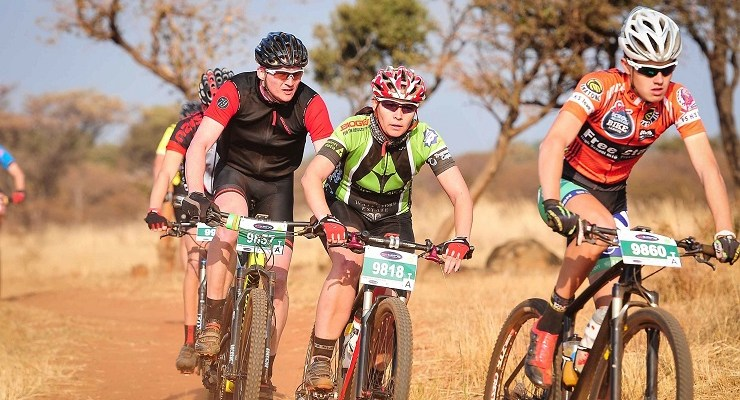 Riders in action during the 2016 Bestmed Sondela MTB Classic.