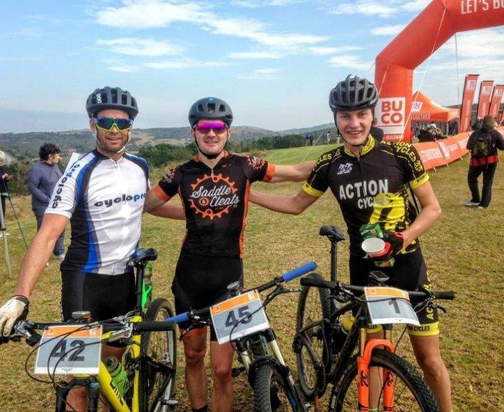 Top three at Grahamstown 2 Sea