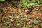 Andrew Hill in action during the Drak Descent