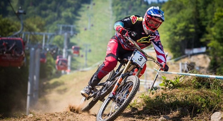 Round six of the UCI MTB World Cup DHI took place at Mont-Saint-Anne in Canada yesterday.