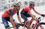 Bahrain Merida's Vincenzo Nibali in action