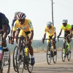 Some of the Khemani Road Classic riders in action on the day.