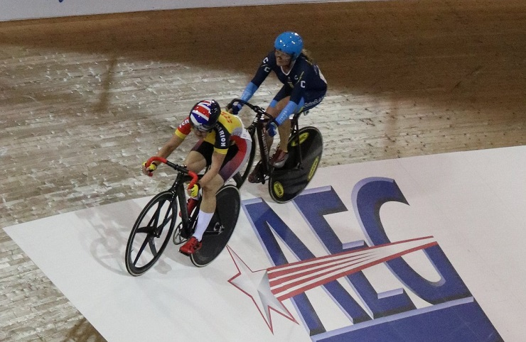 Masters Track Cycling World Championships action