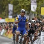 Paris-Tours winner Matteo Trentin