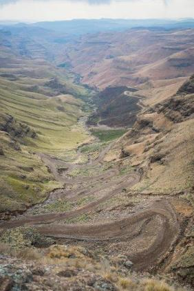 Sani Pass a test
