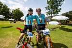 Flandria's Robert Hobson and Rossouw Bekker claimed victory on stage one of the Sanlam MTB Invitational in Paarl today.