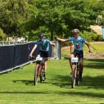 Rossouw Bekker and Robert Hobson (Flandria) won the Sanlam MTB Invitational in Paarl today.