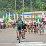 Rinaldo Nocentini won the 114km third stage