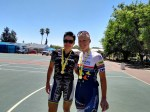 Sabine Spitz, Robyn de Groot at Leopard Crawl MTB