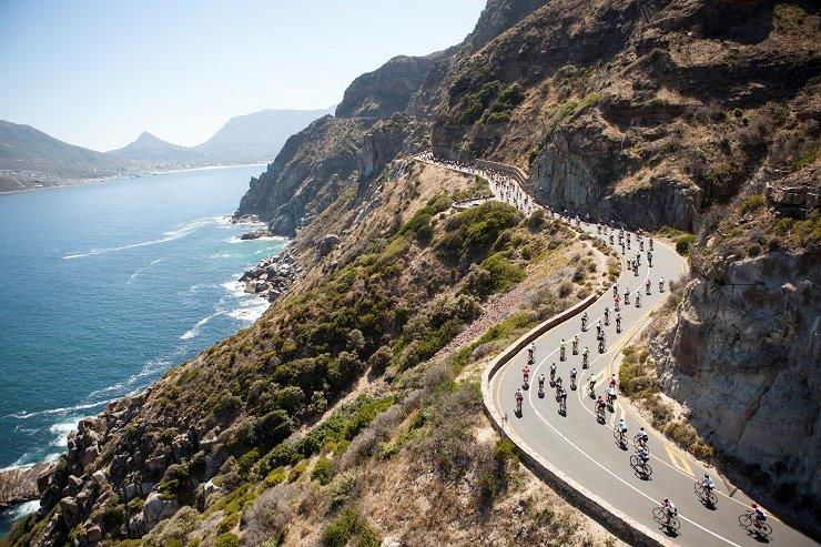 The Cape Town Cycle Tour will feature a number of road closures. Photo: Gary Perkin